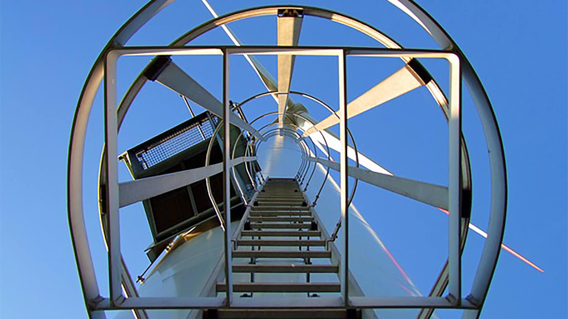 wind-turbine-ladder